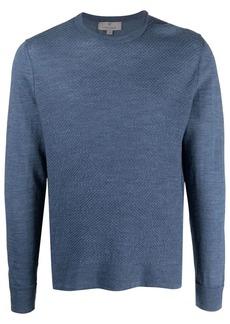 Canali crewneck wool jumper