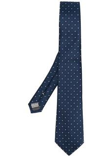 Canali dot print tie