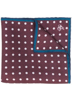 Canali dotted square scarf