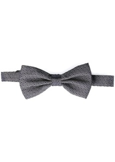 Canali embroidered bow tie