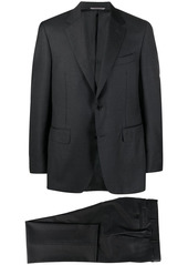 Canali fitted single-breasted suit