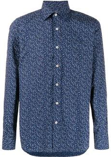 Canali floral paisley print shirt