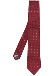 Canali floral patterned tie