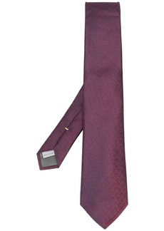 Canali geometric print tie