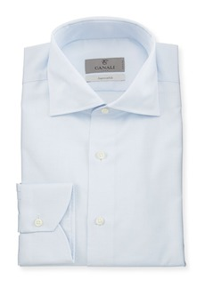 Canali Impeccabile Micro-Neat Dress Shirt