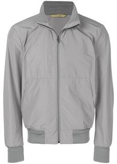 Canali layered neck padded coat