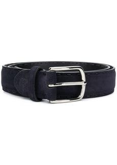 Canali logo embossed belt