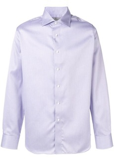 Canali long-sleeve fitted shirt