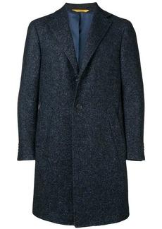 Canali melange knit coat