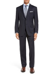 Men's Big & Tall Canali Classic Fit Solid Wool Suit