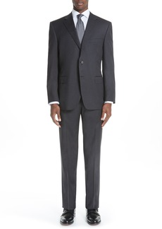 Men's Big & Tall Canali Classic Fit Wool Suit