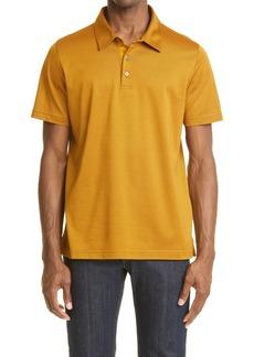 Men's Canali Short Sleeve Cotton Polo