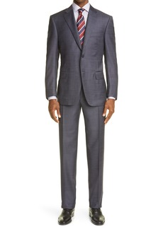 Men's Canali Siena Soft Classic Fit Wool Suit