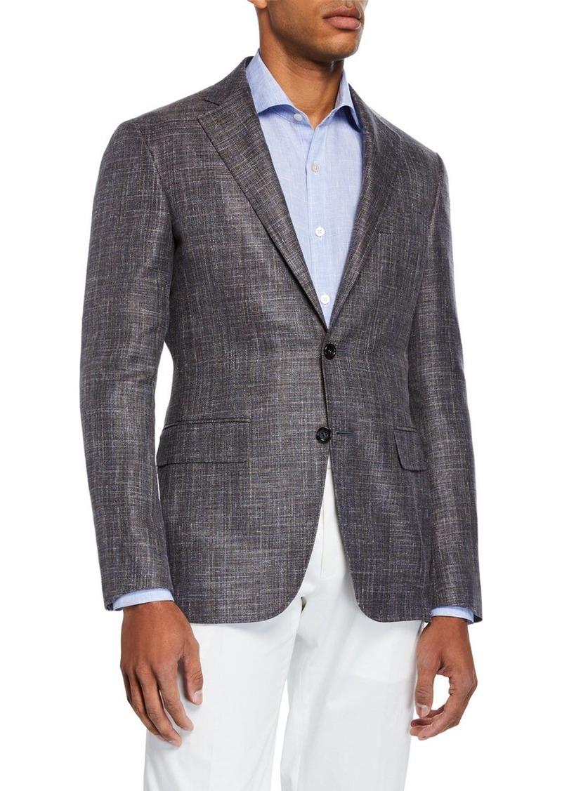 Canali Men's Custom Knit Sport Jacket