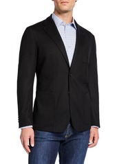 Canali Men's Edition Travel-Knit Jacket