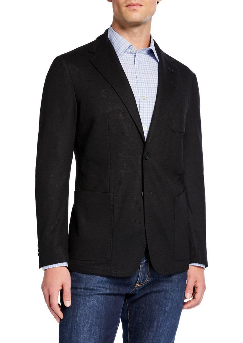 Canali Men's Edition Travel-Knit Jacket