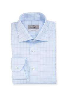Canali Men's Graph Check Dress Shirt
