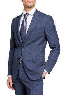 Canali Men's Impeccabile 130s Wool Plaid Two-Piece Suit