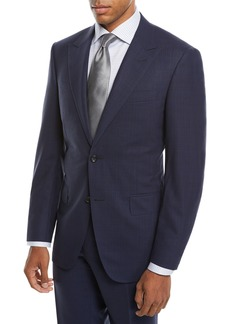 Canali Men's Impeccabile Tonal Plaid Wool Two-Piece Suit