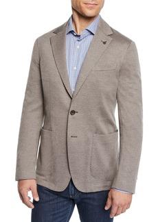 Canali Men's Knit Blazer