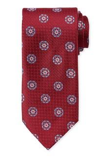 Canali Men's Satin Circle Medallions Tie