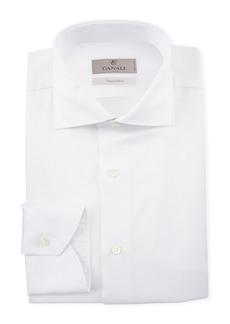 Canali Men's Textured Dress Shirt