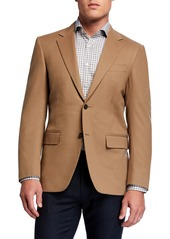Canali Men's Two-Button Wool-Cashmere Blazer