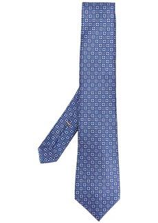 Canali micro-check print tie