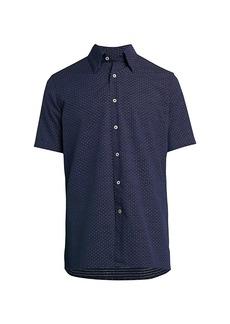 Canali Micro Dash Sport Shirt