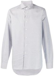 Canali micro pattern long-sleeve shirt