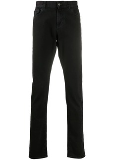 Canali mid-rise slim jeans
