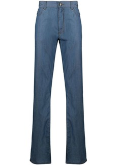 Canali mid-rise straight-leg jeans