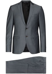 Canali notch-lapel single-breasted suit