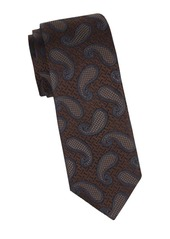 Canali Oversized Paisley Silk Tie