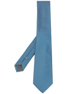 Canali patterned suit tie