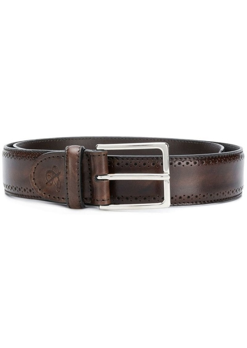Canali perforated detail belt