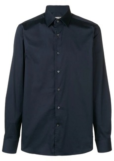 Canali pointed collar shirt