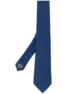 Canali pointed-tip tie