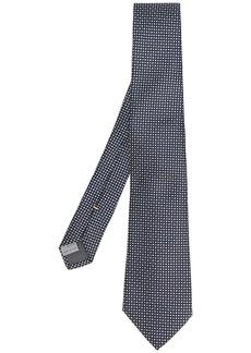 Canali polka dot patterned tie