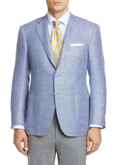 Canali Siena Solid Wool Blend Sport Coat