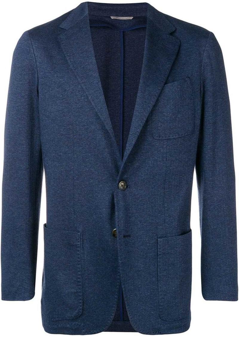 Canali single breasted blazer