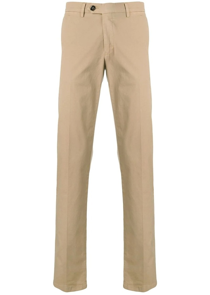 Canali slim-fit chinos