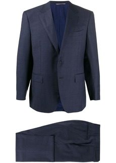 Canali slim fit single-breasted suit