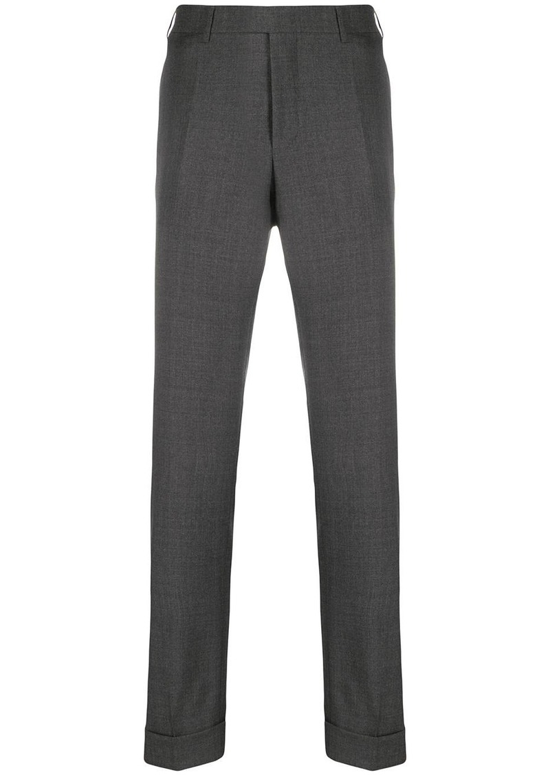 Canali slim fit trousers