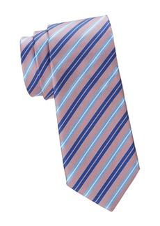 Canali Striped Silk Tie