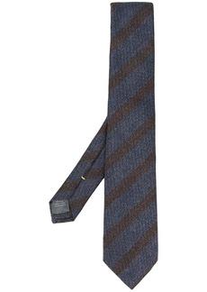 Canali striped woven tie