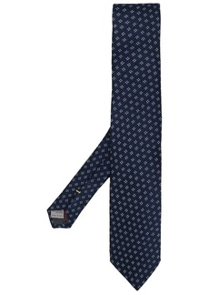 Canali textured floral tie