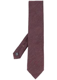 Canali textured knit tie