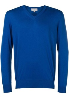 Canali v-neck knitted sweater