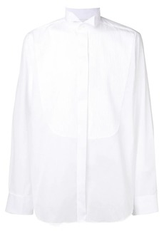 Canali wing tip collar shirt